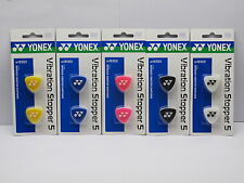 YONEX VIBRATION STOPPER DAMPER DAMPENERS PACK OF 2 - VARIOUS COLOURS AC165EX