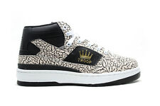 WORLD OF TROOP PRO EDITION RETRO SIZES 7-13 BLACK/WHITE/GOLD LL COOL J VINTAGE