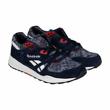 Reebok Ventilator AWD Mens Blue Synthetic Athletic Lace Up Running Shoes