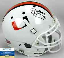 Jim Kelly Autographed/Signed Miami Hurricanes Schutt Authentic NCAA Helmet