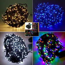 30M 300LED Christmas Tree Garden Decor Green Cable Outdoor String Fairy Lights