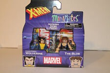 DST Minimates Marvel Series 60 X-men Strike Force Wolverine & The Blob new 2015