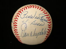 Hall of Famers Autographed National League Feeney Baseball – JSA LOA