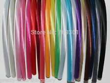 ✿ ✿ 3 PACK 10MM  SATIN HAIR BAND ALICE BANDS HEAD BANDS ✿✿