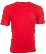 TOMMY BAHAMA Mens T-Shirt BALI HIGH TIDE POCKET Relax RED Embroidered M-XL $48