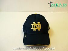Adidas ClimaLite Notre Dame Football Navy Fitted Hat- 4 Charity!