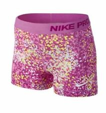 """NIKE Women's Pro Core 3"""" Printed Compression Training Shorts NWT"""