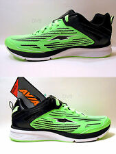 AVIA Mens Running Shoes/Athletic Sneakers IMPACT Colors: Lime/Black New with Box