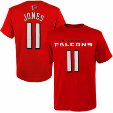 Julio Jones Atlanta Falcons Youth Mainliner Name & Number T-Shirt - Red - NFL