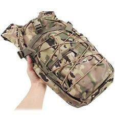 Tactical Military Hydration Backpack Assault Outdoor Bag Cycling Water Pouch