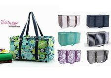 Thirty One Large Utility Tote Organizer Laundry Basket beach Bag Storage Box 31