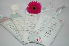 SHABBY CHIC LOVE BOOKMARK  EAST OF INDIA GIFT VINTAGE RETRO