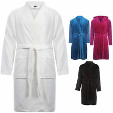 NEW UNISEX MENS LADIES WOMENS LUXURY STYLISH TERRY TOWEL BATH ROBE GRESSING GOWN