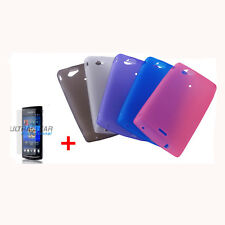 Design TPU Pouch Silicone for Sony Ericsson Xperia Arc Arc S LT15i X12 NEW
