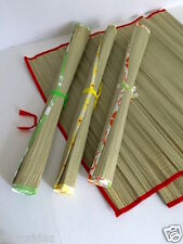 Bamboo Straw Mat Yoga Beach Home Floor Rug Camping Awning Gym Sand Outdoor Pool