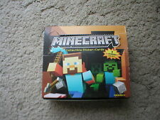 Minecraft Sticker cards - Regular & Foil cards - Complete your collection
