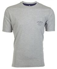 TOMMY BAHAMA Mens T-Shirt BALI HIGH TIDE POCKET Relax GREY Embroidered M-XL $48