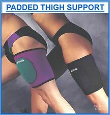 Proline Padded Thigh Support Neoprene Active Sports Legs Protective Gear Sleeve