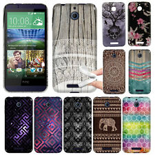 For HTC Desire 510 Desire 512 Elephant TPU SILICONE Soft Rubber Flexi Case Cover