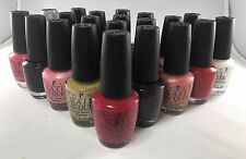 OPI Nail Polish Collection Lacquer Varnish Brand New 15ml Free Shipping