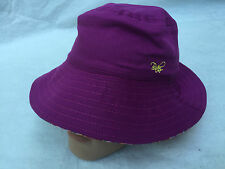 TED BAKER GIRLS KIDS QUALITY DESIGNER REVERSIBLE COTTON WIDE RIMMED SUMMER HAT