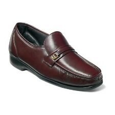 Florsheim Mens Riva Burgundy shoes Dress up Leather Slip On Easy fit 17088-05