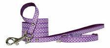 purple pink red yellow blue navy & white polka dots chihuahua dog puppy set