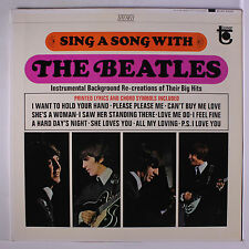 BEATLES (RELATED): Sing A Song With The Beatles LP (M- gatefold cover instros w