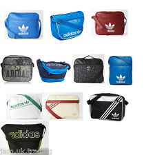 Adidas Originals Linear Street Messenger Shoulder Airline Work School Bag  NEW