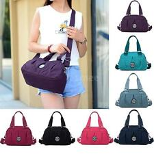Women Nylon Handbag Waterproof Zip Shoulder Crossbody Bag Tote Excellent Satchel