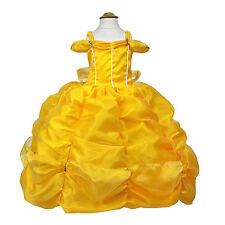 Belle Beauty and The Beast Disney Princess Dress Up Costume Size 12-18M 2-10Yrs