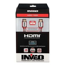 Inveo 12FT 12 ft HDMI with Ethernet Cable