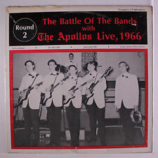 APOLLOS: The Battle Of The Bands With The Apollos Live, 1966  LP (minor seam we