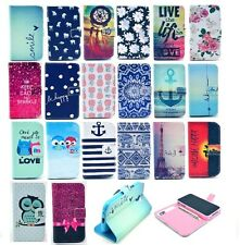 Magnetic Wallet Flip PU Leather+TPU Stand Card Case Cover For Various Cell Phone