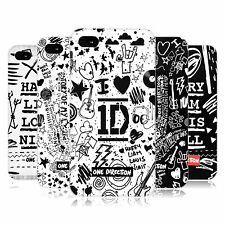 OFFICIAL ONE DIRECTION 1D DOODLE DESIGN HARD BACK CASE FOR APPLE iPHONE 4S