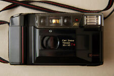 Yashica T2 Carl Zeiss Tessar 35mm 3.5 Film Camera - Works! - Sample Picture!