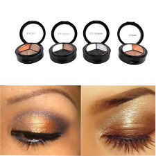New cosmetic 3 colors eyeshadow makeup eye shadow palette Naked Beauty Hot