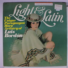 LUIS BORDON: Light & Latin LP (Mono, WLP, sl cw, toc) Latin