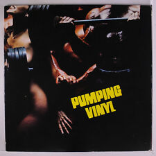 VARIOUS: Pumping Vinyl LP (2 LPs, gatefold cover, slight seam wear) Rock & Pop