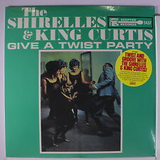 SHIRELLES & KING CURTIS: Give A Twist Party LP Sealed (HQ vinyl reissue) Oldies