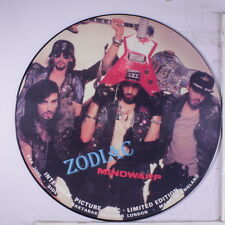 ZODIAC MINDWARP & LOVE REACTION: Interview Picture Disc Limited Edition LP (UK,