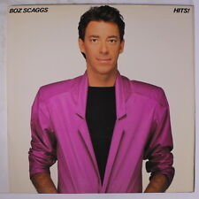 BOZ SCAGGS: Hits! LP (inner sleeve, title tag on shrink) Rock & Pop