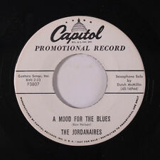 JORDANAIRES: A Mood For The Blues / Any Which-a-way 45 (dj) Country