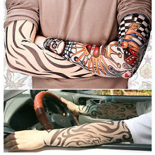 Tattoo Arm Warmers Cuff Sleeve Cover UV Sun Protection for Sport Bike basketball