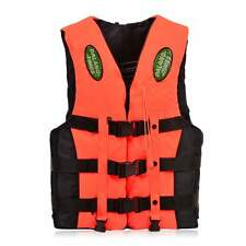 Swimming Foam Life Jacket Vest PFD Fully Enclose Foam Adult Boating Whistle  BS