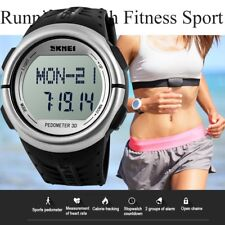 Hot Pedometer Fitness Running Sport Calorie Counter Heart Rate Monitor Watch Box