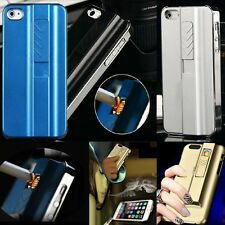 NEW Cool Design Phone Case With Cigarette Lighter Metal Cover For Apple Samsung