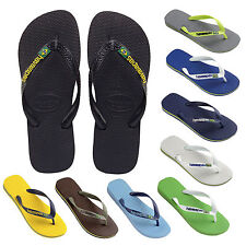Havaianas Flip Flops Brasil Logo Unisex men`s Beach Sandals All Sizes £22 RRP