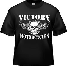 New Victory Vegas Hammer Kingpin Motorcycle T-Shirt