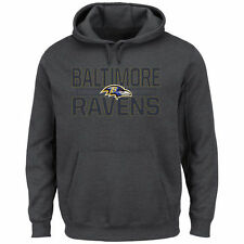 Baltimore Ravens Majestic Kick Return Pullover Hoodie - Charcoal - NFL